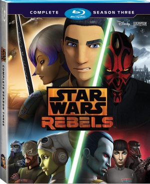 Star Wars Rebels: Complete Season Three (Blu-ray Disc)