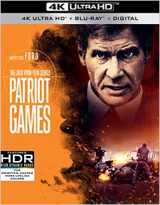 Patriot Games (4K UHD Review)