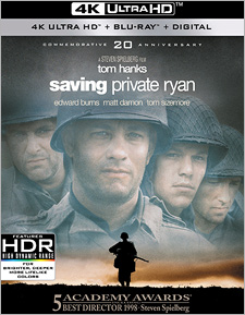 Saving Private Ryan: 20th Anniversary Edition (4K UHD Review)